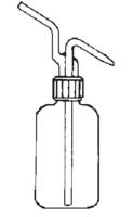 Frasco lavador con cabeza roscada
