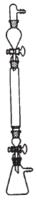 Aparato cromatografía por columna 30x300